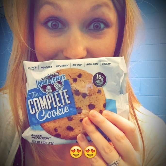Lenny & Larry's The Complete Cookie, Chocolate Chip, 4 oz, 12 ct uploaded by Mackenzie P.