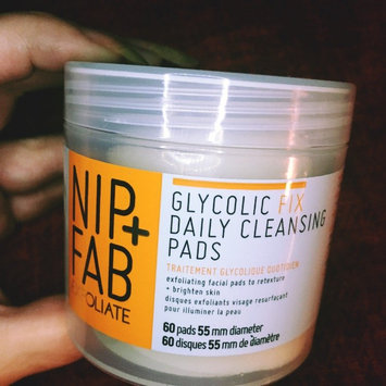 Photo of Nip + Fab Glycolic Fix Exfoliating Facial Pads - 60 Count uploaded by Heather J.