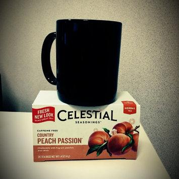 Celestial Seasonings Country Peach Passion Caffeine Free Herbal Tea - 20 CT uploaded by Jessye W.
