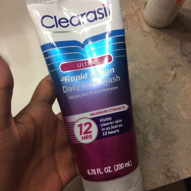 Clearasil Ultra Daily Face Wash Acne Medication uploaded by Apurva s.