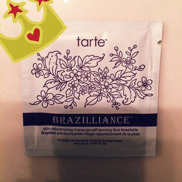 tarte Brazilliance™ Set of 5 Self-Tanning Face Towelettes uploaded by Angie V.