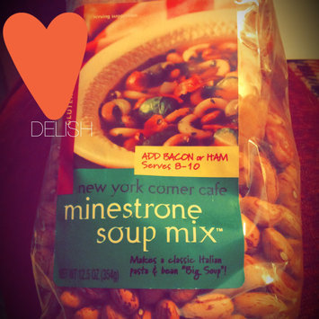 Frontier Soups Hearty Meals New York Corner Cafe Minestrone Soup Mix -- 12.5 oz uploaded by Dana T.