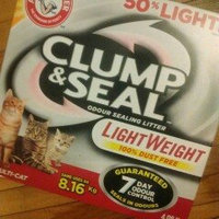 ARM & HAMMER™ Clump & Seal™ Lightweight Odor Sealing Clumping Litter Multi-Cat uploaded by Tracy R.