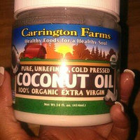 Carrington Farms 100% Organic Extra Virgin Coconut Oil, 14 fl oz uploaded by Shawnta C.