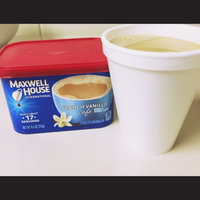 Maxwell House International Cafe French Vanilla uploaded by Ashley P.