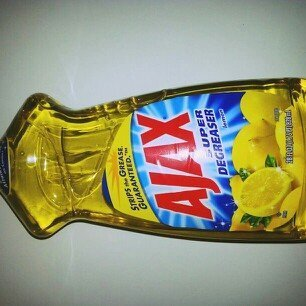 Ajax Super Degreaser Lemon Dish Liquid uploaded by mrs t.