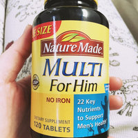 Nature Made Multi for Him 300 CT Multivitamin Dietary Supplement uploaded by Tonya M.