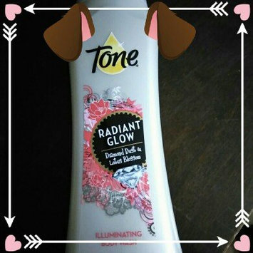 Tone® Radiant Glow Diamond Dust & Lotus Blossom Illuminating Body Wash 16 fl. oz. Bottle uploaded by Eloisa R.