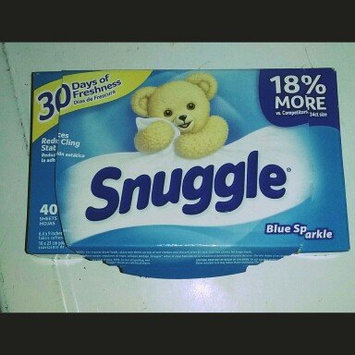 Snuggle Fabric Softener Sheets - Blue Sparkle - 40 CT uploaded by Alyssa A.