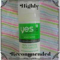 Yes to Cucumbers Soothing Daily Calming Moisturizer uploaded by Rebecca C.