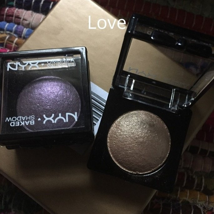 NYX Cosmetics Baked Eye Shadow uploaded by Donnamarie L.