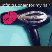 Conair 207P Infinity Tourmaline Ceramic Hair Dryer, Black uploaded by missy t.