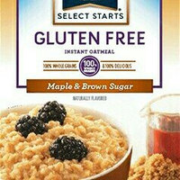 Quaker® Select Starts Gluten Free Maple & Brown Sugar Instant Oatmeal uploaded by Rendi D.