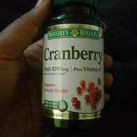 Nature's Bounty Cranberry 4200mg Plus Vitamin C Herbal Supplement Softgels - 250 CT uploaded by Ideal B.