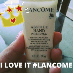 Photo of Lancôme Nutrix Royal Mains Intense Nourishing and Repairing Hand Cream uploaded by Skarlet M.