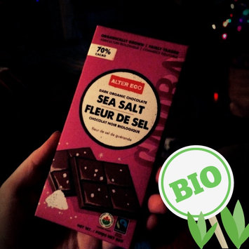 Photo of Alter Eco Deep Dark Sea Salt Organic Chocolate uploaded by Aeron M.
