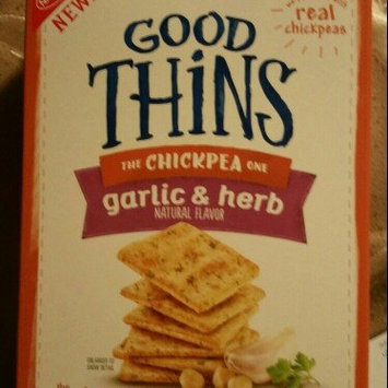 Good Thins Garlic & Herb Chickpea Snacks uploaded by Crystal B.