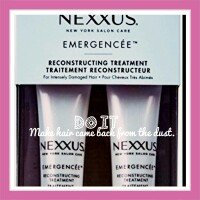 Photo of NEXXUS® EMERGENCÉE TREATMENT FOR DAMAGED HAIR uploaded by C05-003043 Esther Altagracia P.
