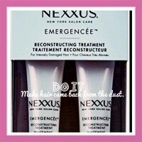 Nexxus Emergencée Reconstructing Treatment uploaded by Esther P.