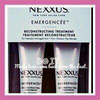 Nexxus Emergencée Reconstructing Treatment uploaded by Esther P.