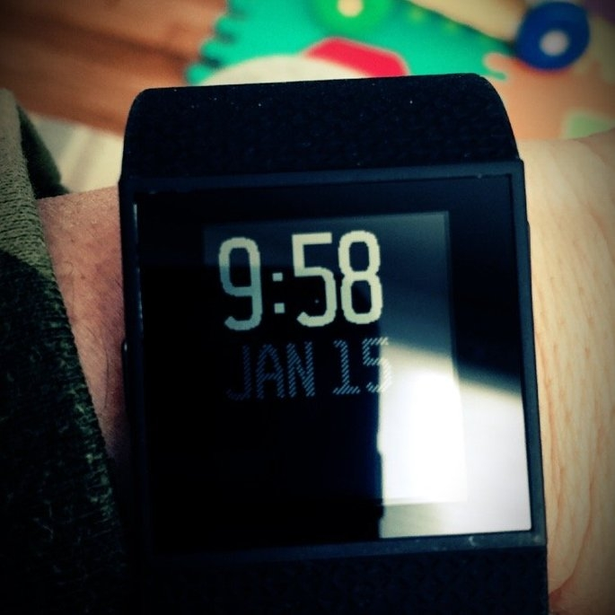 Fitbit Surge GPS Fitness Watch uploaded by Carrie T.