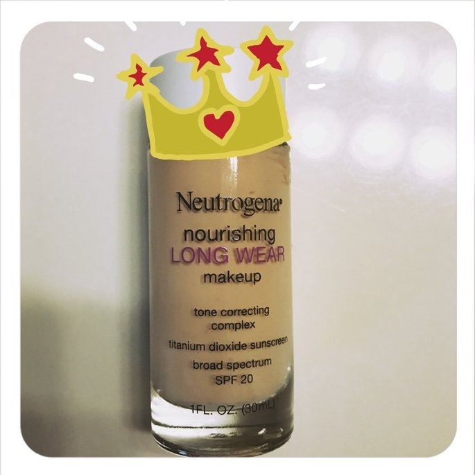Neutrogena Nourishing Long Wear Foundation uploaded by Haley M.