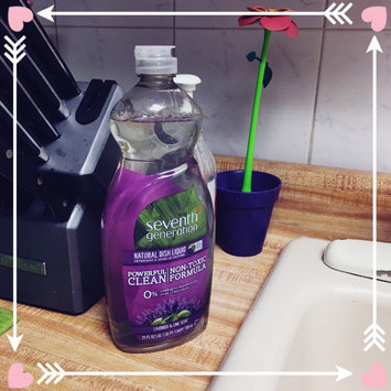 Seventh Generation Natural Dish Liquid, Fresh Lime & Lavender, 25 oz uploaded by Saudi L.