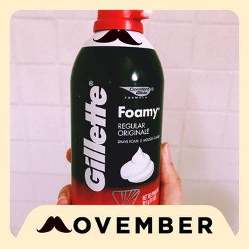 Gillette Foamy Regular Shaving Foam uploaded by Maria L.