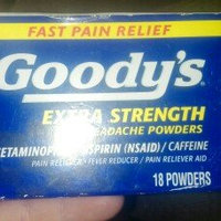 Goody's Extra Strength Acetaminophen/Aspirin Powder- 18 ct uploaded by Ariel R.