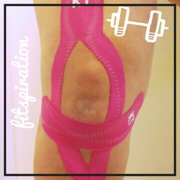 Photo of KT Tape Kinesiology Therapeutic Tape Pro Precut Strips uploaded by Christine L.