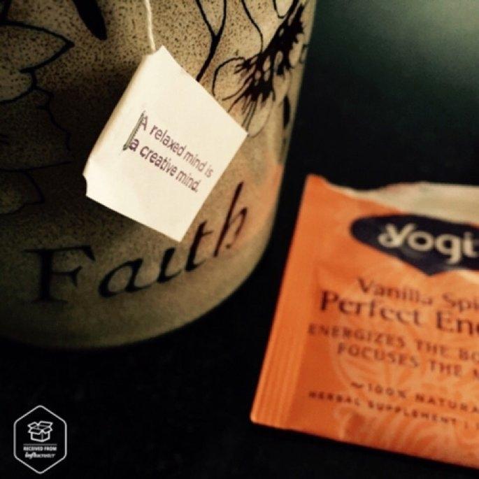 Yogi Tea Vanilla Spice Perfect Energy uploaded by Jessica I.