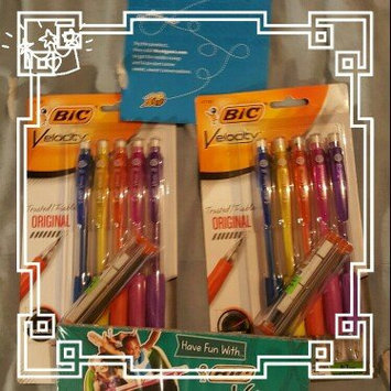 Photo of BIC Pencils Mechanical Pencil, Refillable, Rubbergrip, .7mm, Assorted uploaded by Tami W.