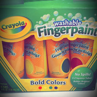 Crayola Washable Finger Paints, 4-Count ( 4 ounce tubes ), Red, Blue, Yellow and Green uploaded by Harlow B.