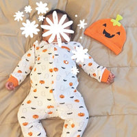 Just One YouMade by Carter's Baby Pumpkin Sleep N' Play and Hat Set - 9M, Cosmic Rust uploaded by Ang T.