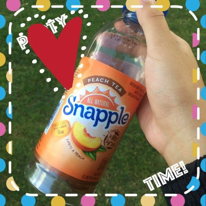 Snapple All Natural Peach Tea uploaded by Lauren S.