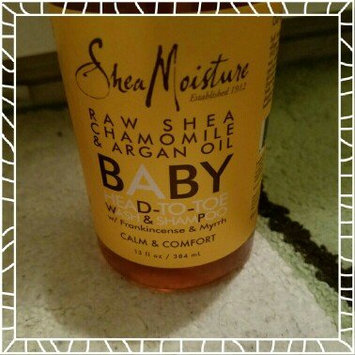 Photo of SheaMoisture Raw Shea Chamomile & Argan Oil Wash & Shampoo uploaded by Kaytee G.