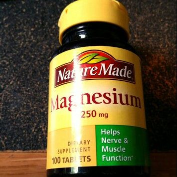 Photo of Nature Made Magnesium Tablets uploaded by Tory K.