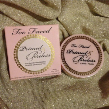 Photo of Too Faced Primed & Poreless Powder uploaded by Haley M.