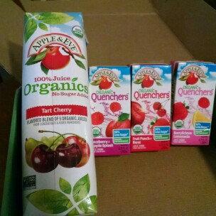 Photo of Apple & Eve® 100% Juice Organics Tart Cherry Juice 33.8 fl. oz. Carton uploaded by Kari N.