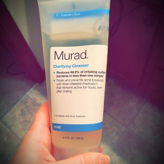 Murad Clarifying Cleanser uploaded by Jackie R.