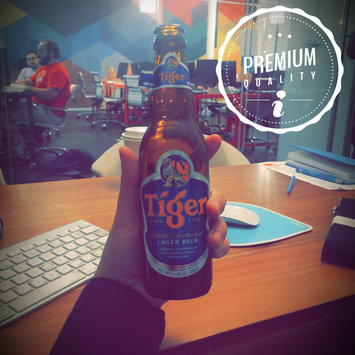 Photo of Tiger Lager 12oz uploaded by Aydin A.
