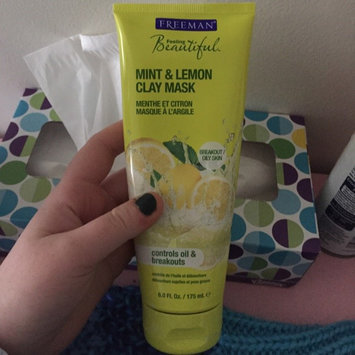 Photo of Freeman Feeling Beautiful Clay Mask Mint & Lemon uploaded by Mikinley L.