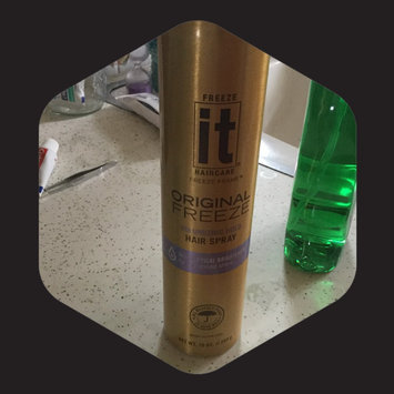 Photo of Freeze It Original Freeze Hair Spray, 11.6 oz uploaded by Leslie L.
