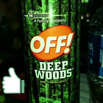 Photo of Off!® Deep Woods® Insect Repellent 11 oz. Aerosol Can uploaded by Christie M.