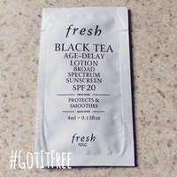Fresh Black Tea Age-Delay Lotion Broad Spectrum Sunscreen SPF 20 1.6 oz uploaded by Lydia G.
