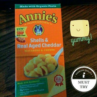 Annie's Homegrown® Organic Shells & Real Aged Cheddar Macaroni & Cheese uploaded by BETH ANNE S.