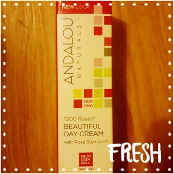 Photo of Andalou Naturals 1000 Roses Beautiful Day Cream uploaded by JACKIE M.