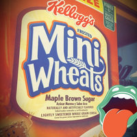 Kellogg's Frosted Mini-Wheats Maple Brown Sugar Cereal uploaded by Brigitte B.