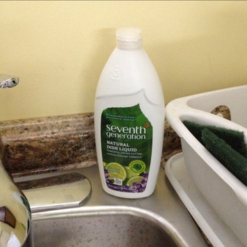 Seventh Generation Natural Dish Liquid, Fresh Lime & Lavender, 25 oz uploaded by Savannah S.