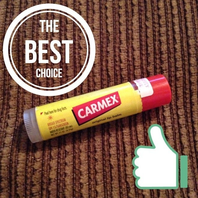 Carmex Moisturizing Lip Balm Stick SPF 15 uploaded by Emily M.